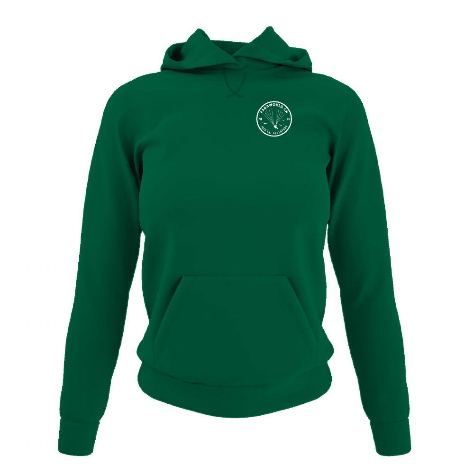 JTA s hoodie damen green front