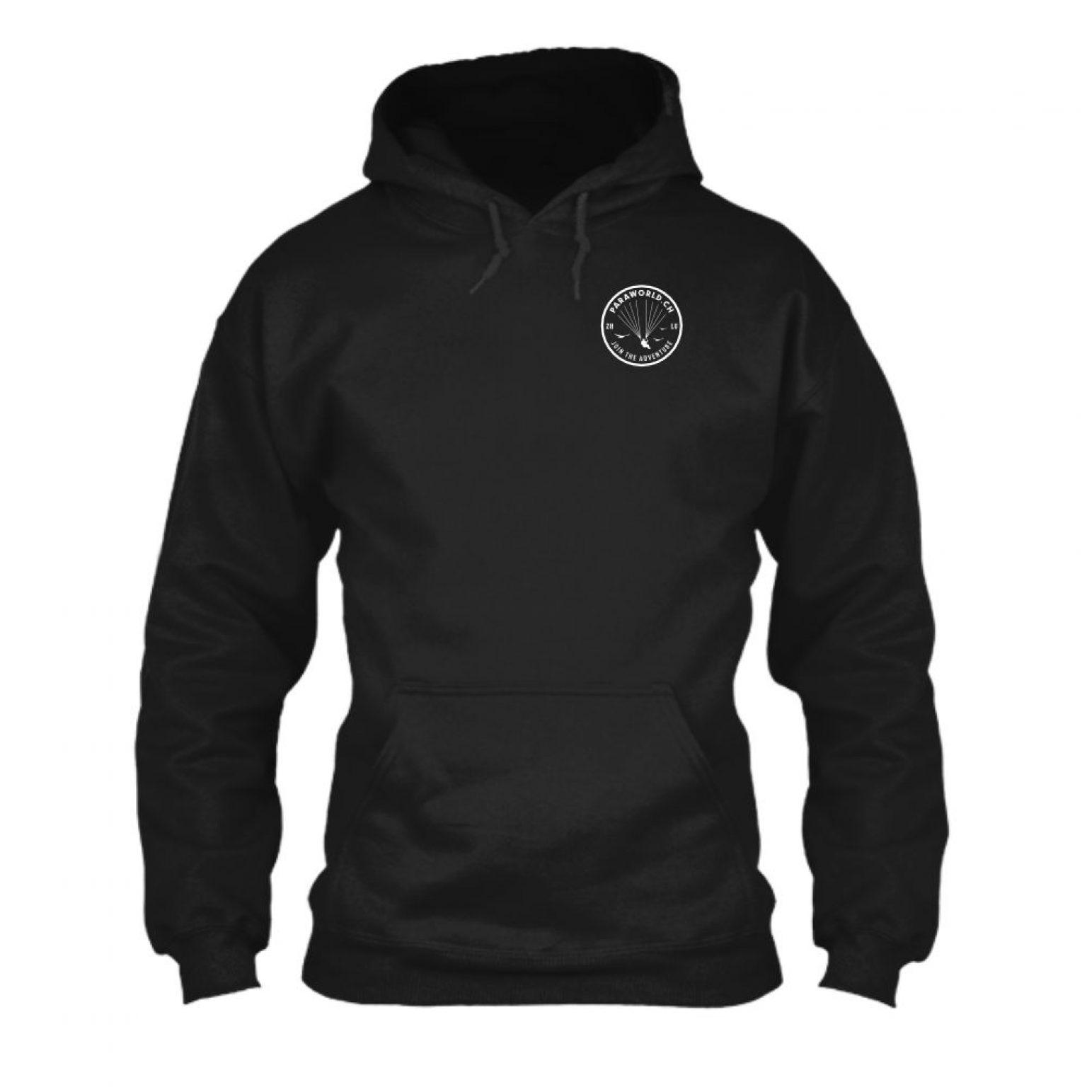 JTA s hoodie herren black front