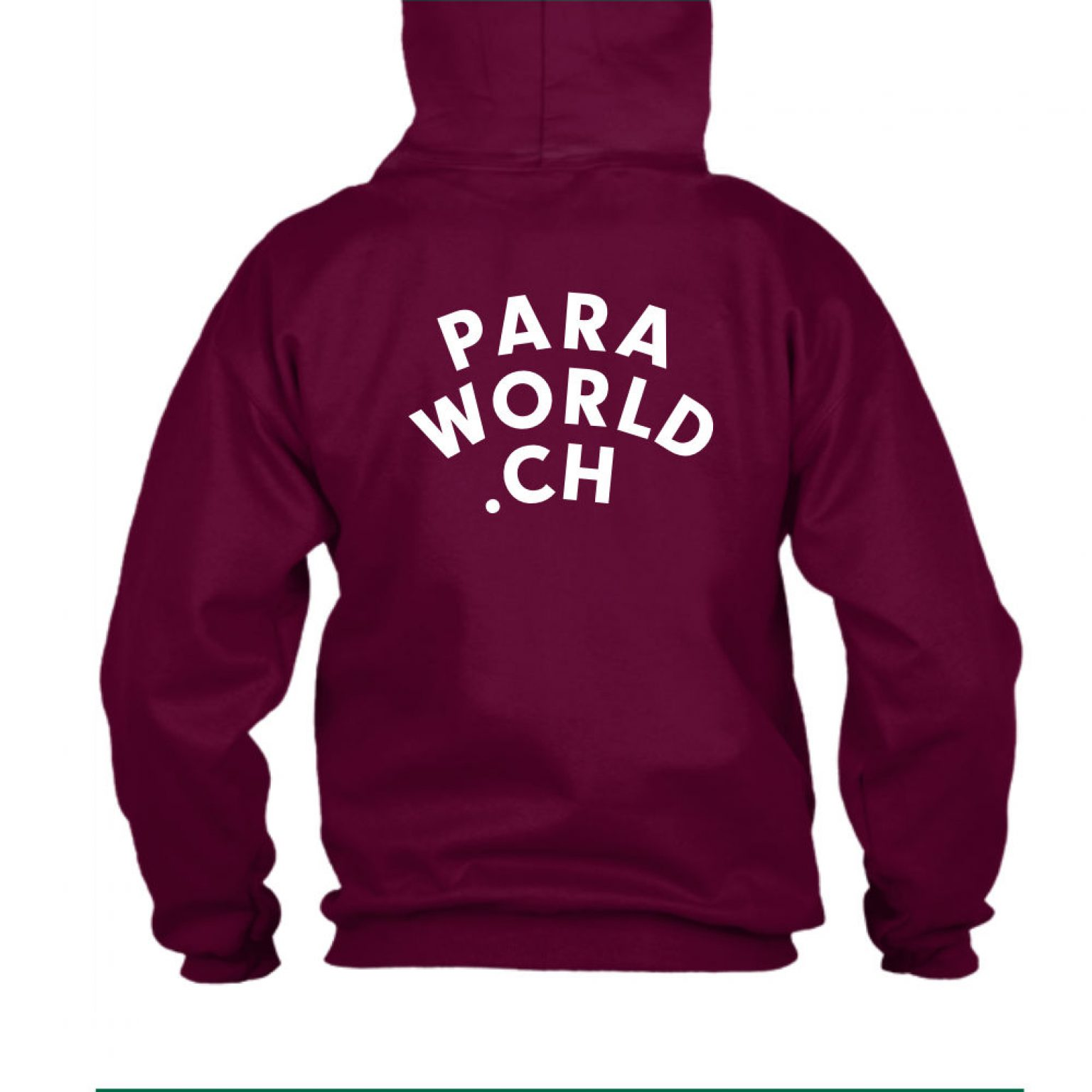 JTA s hoodie herren burgundy back