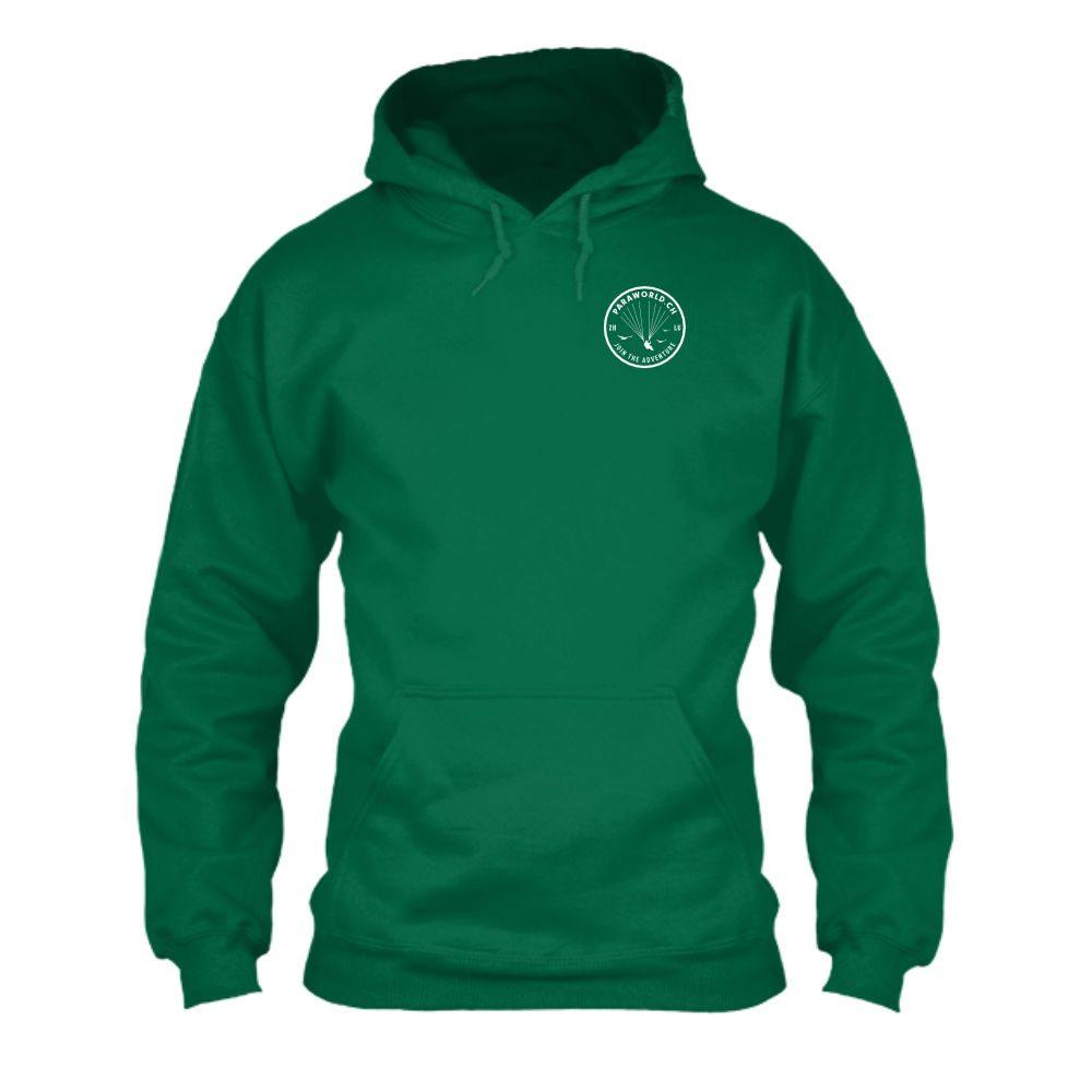 JTA s hoodie herren green front