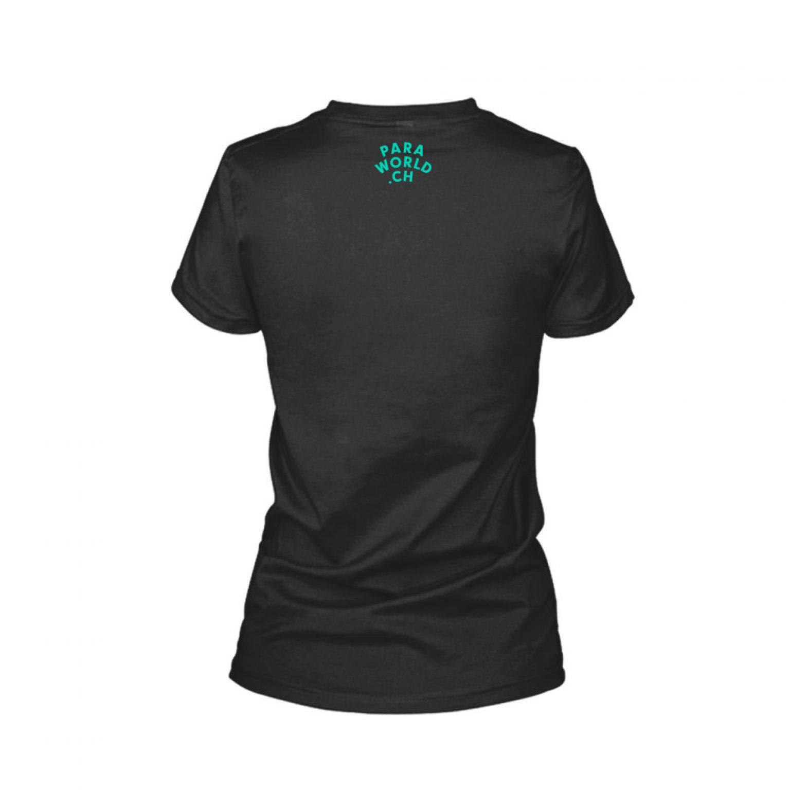 JTA s turqois shirt damen black back