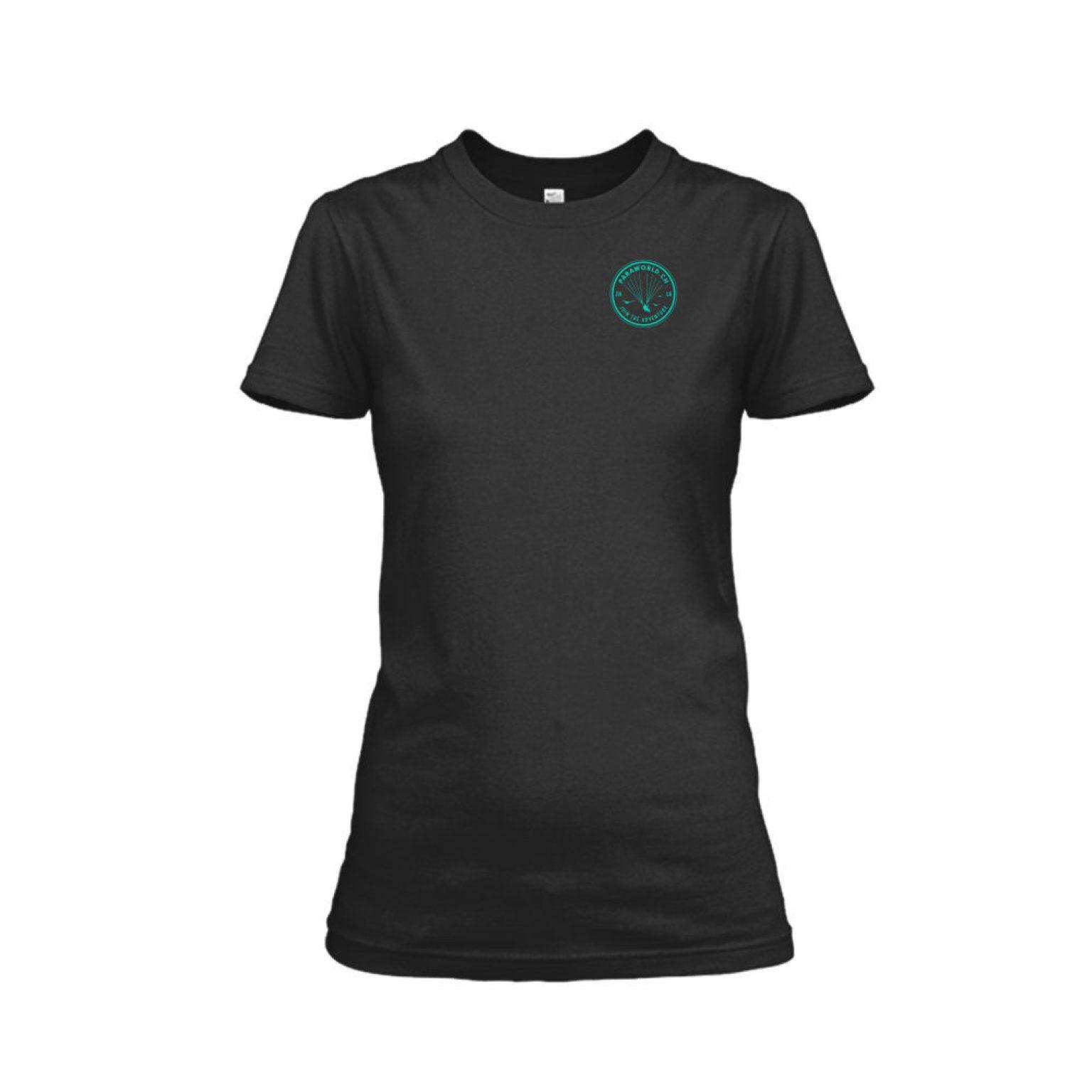 JTA s turqois shirt damen black front