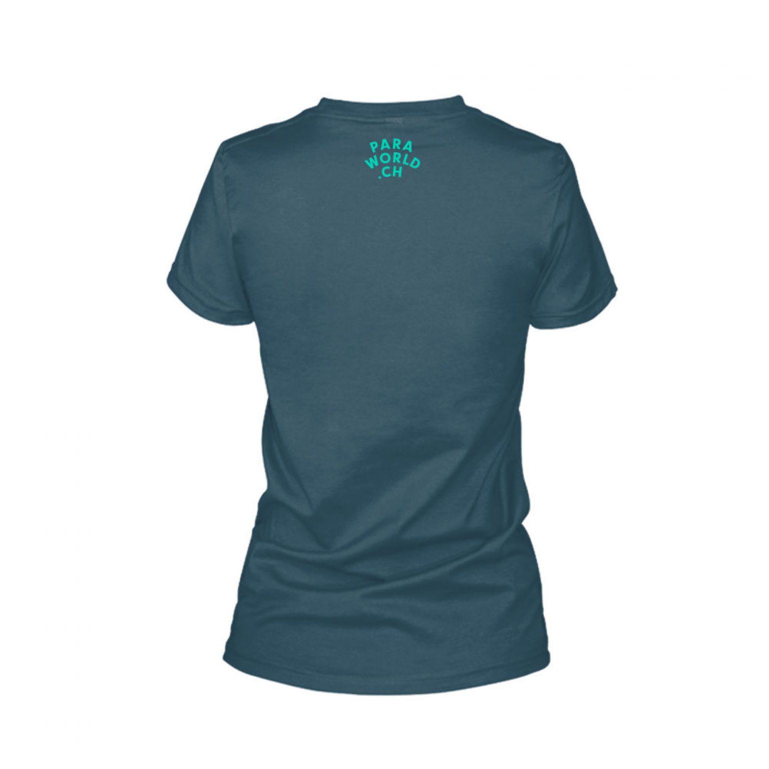 JTA s turqois shirt damen navy back