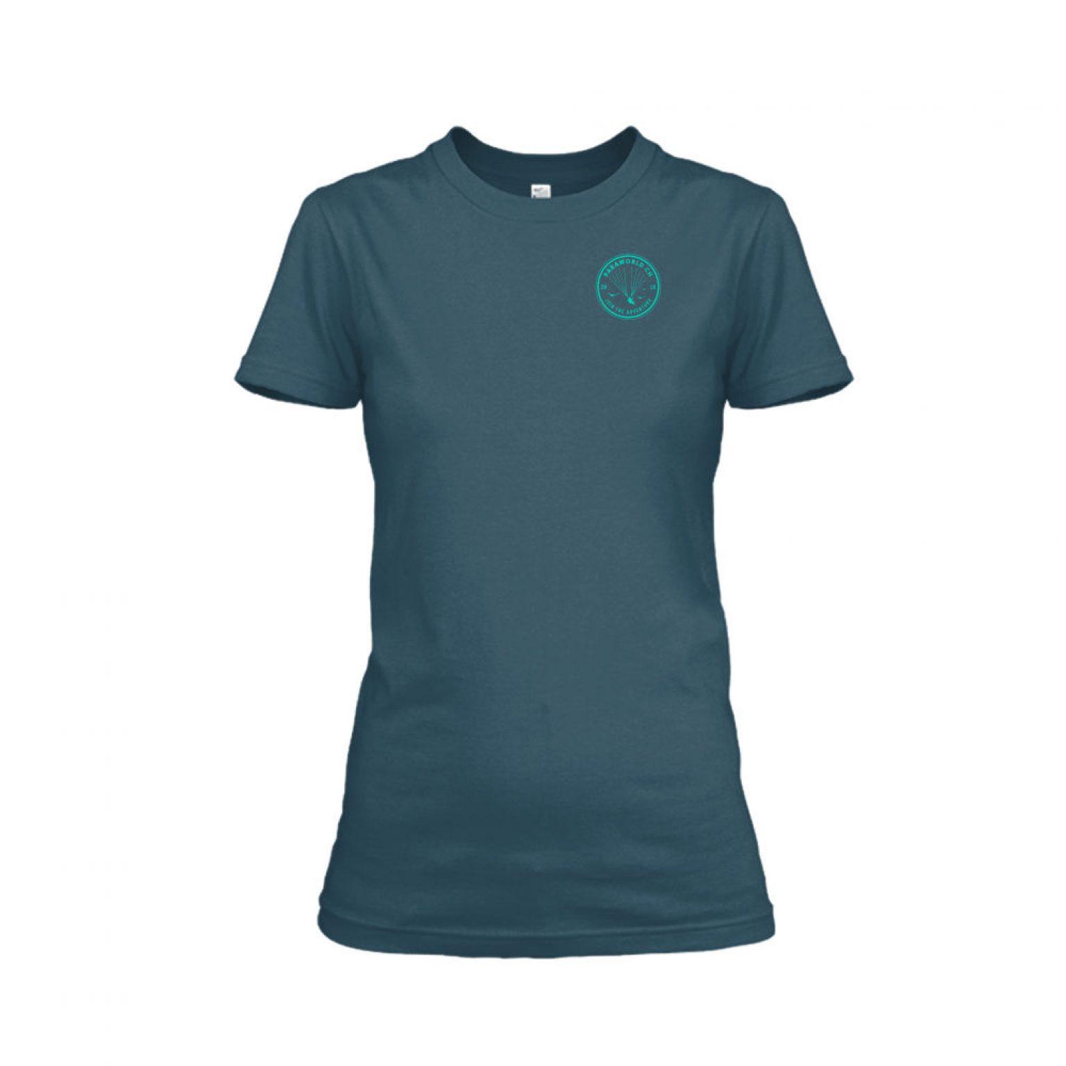 JTA s turqois shirt damen navy front