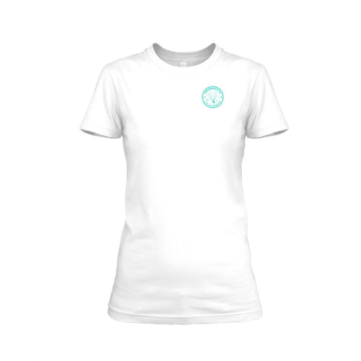 JTA s turqois shirt damen white front
