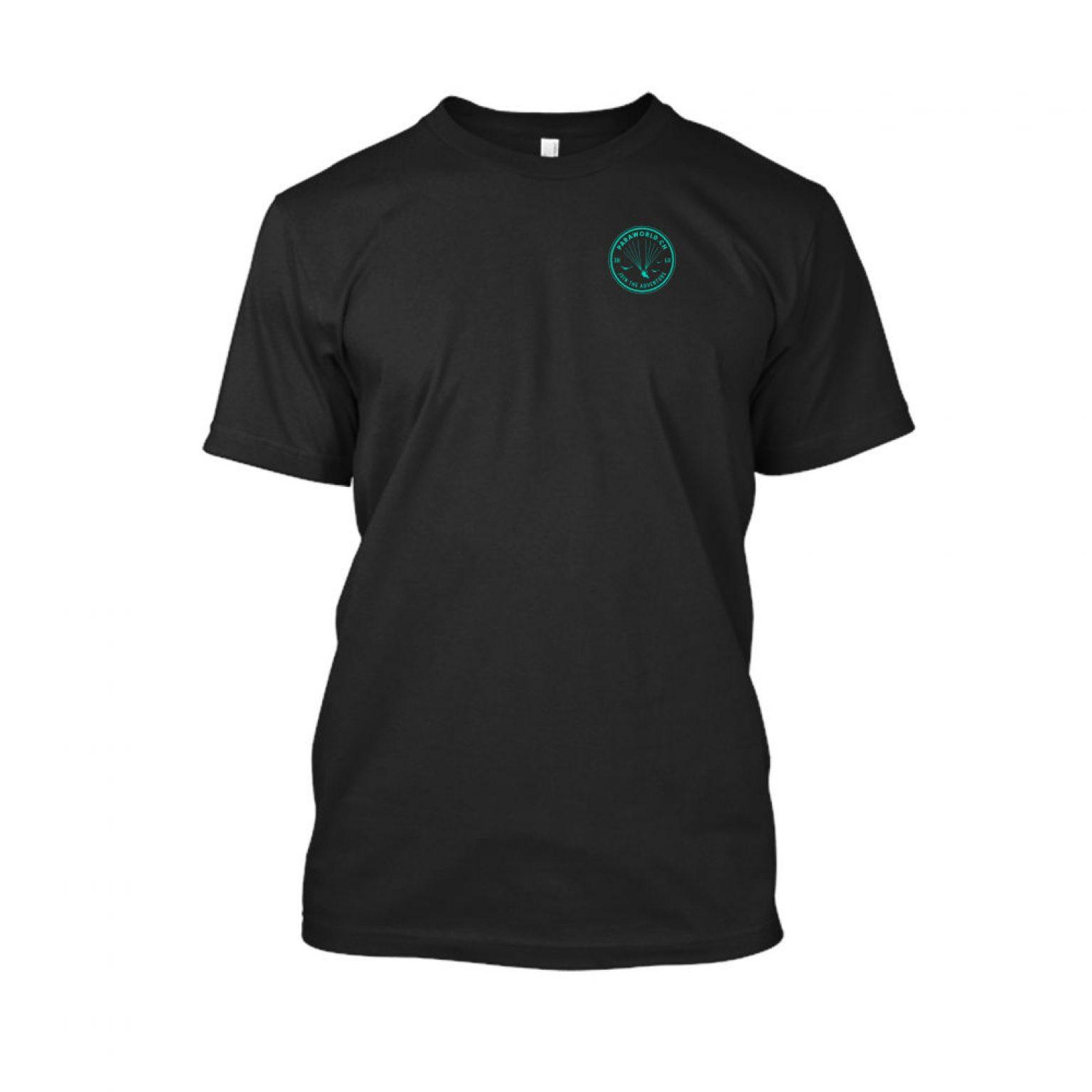 JTA s turqois shirt herren black front