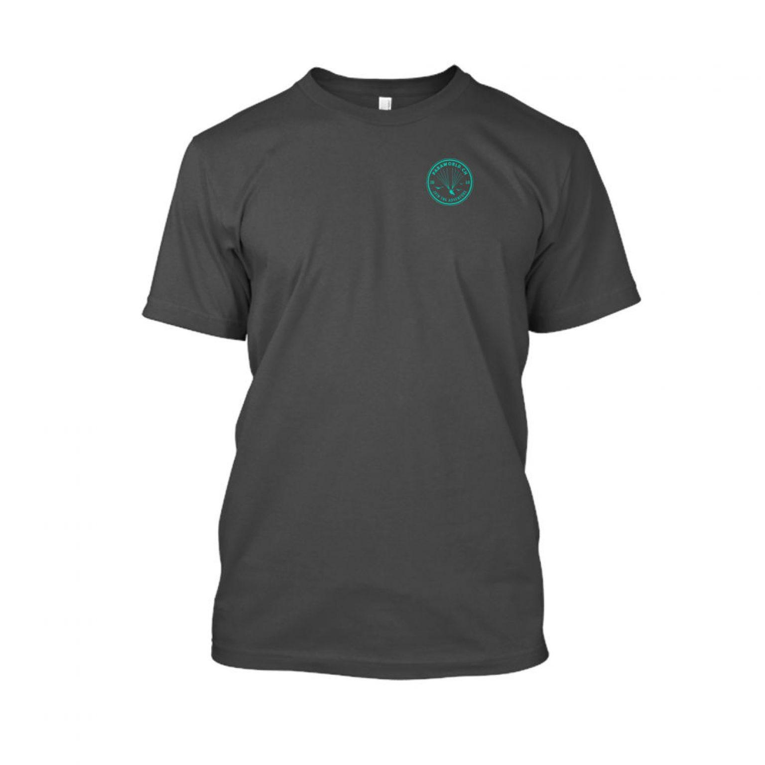 JTA s turqois shirt herren charcoal front