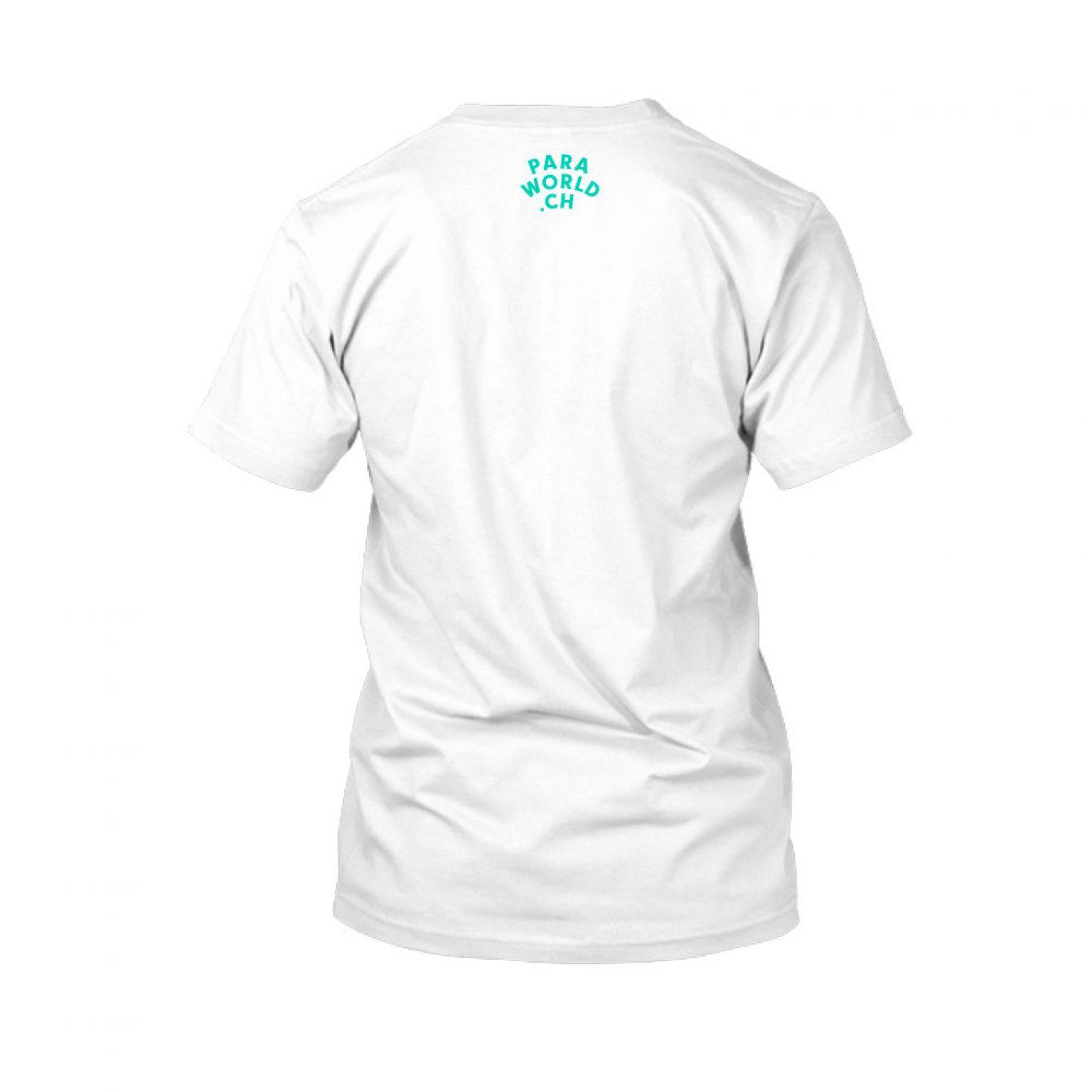 JTA s turqois shirt herren white back