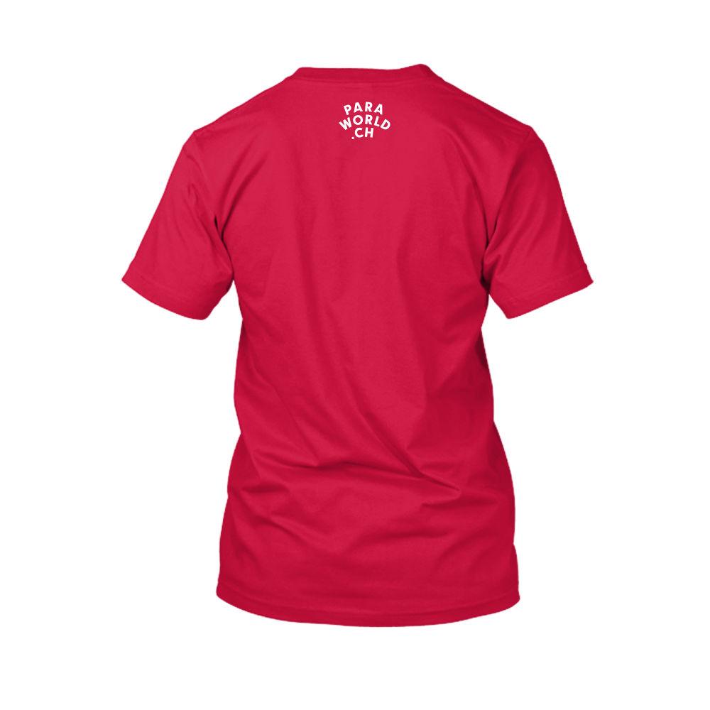JTA s white shirt herren red back