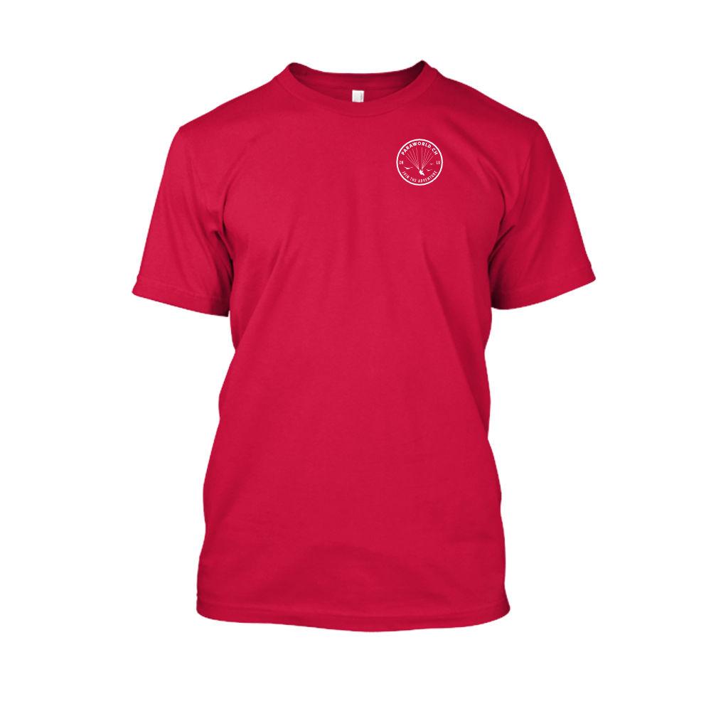 JTA s white shirt herren red front
