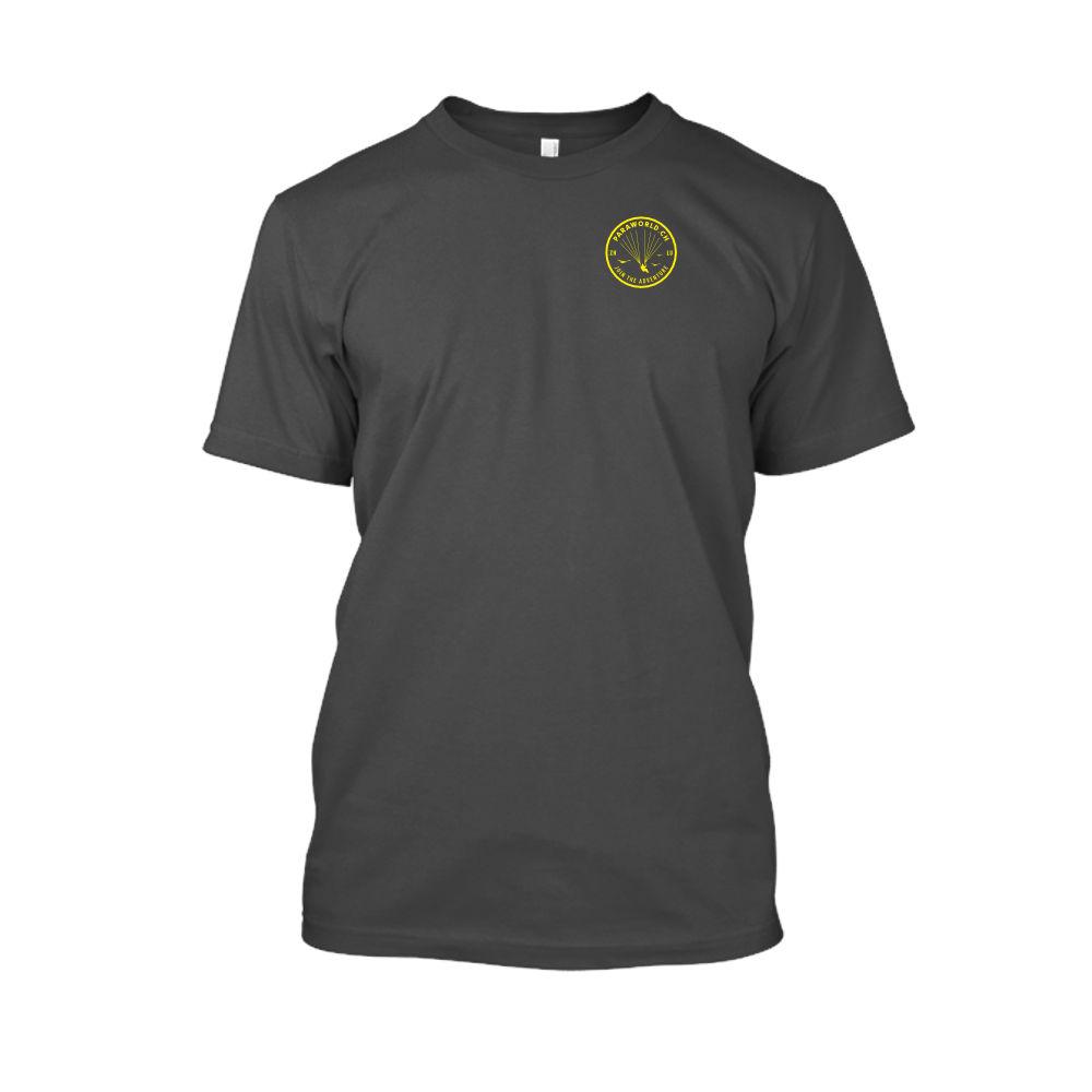 JTA s yellow shirt herren charcoal front