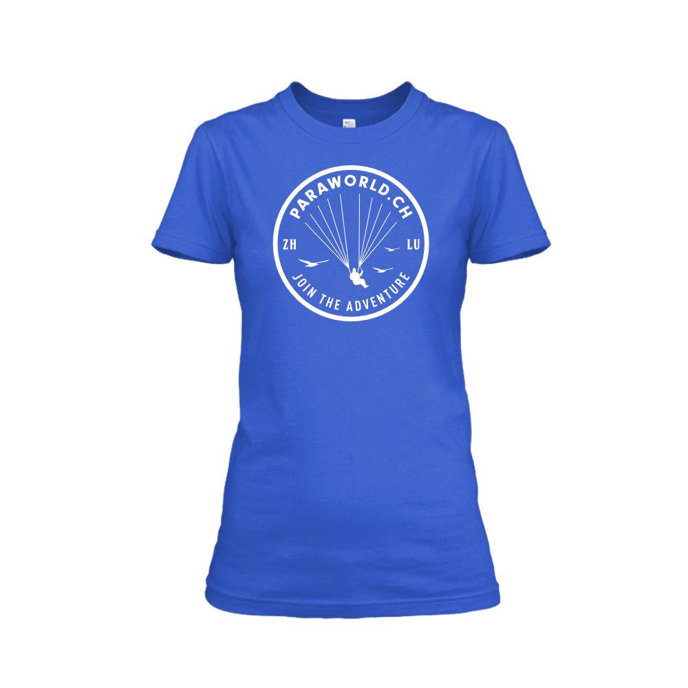 JTA white shirt damen blue