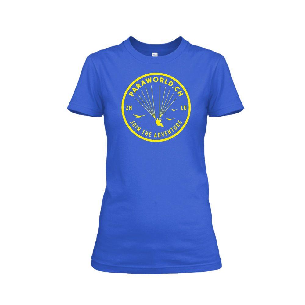 JTA yellow shirt damen blue