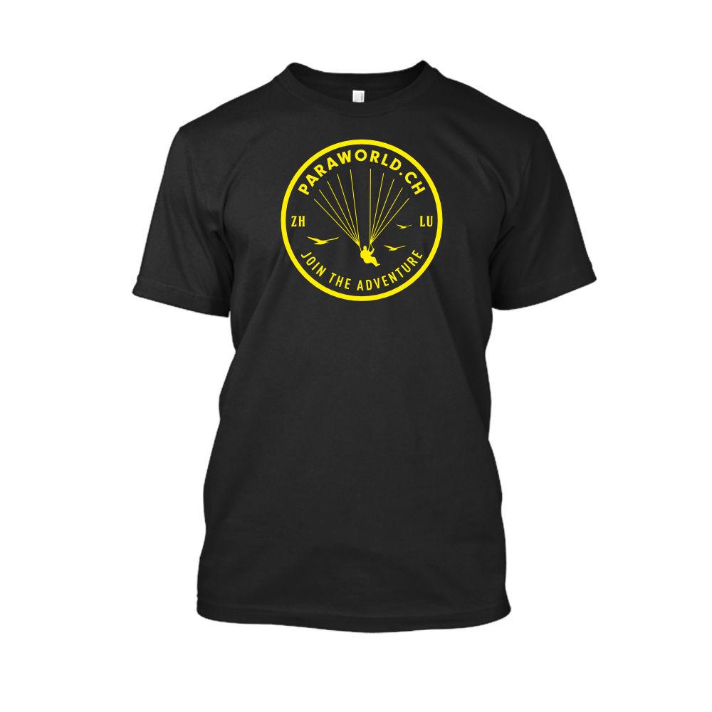 JTA yellow shirt herren black