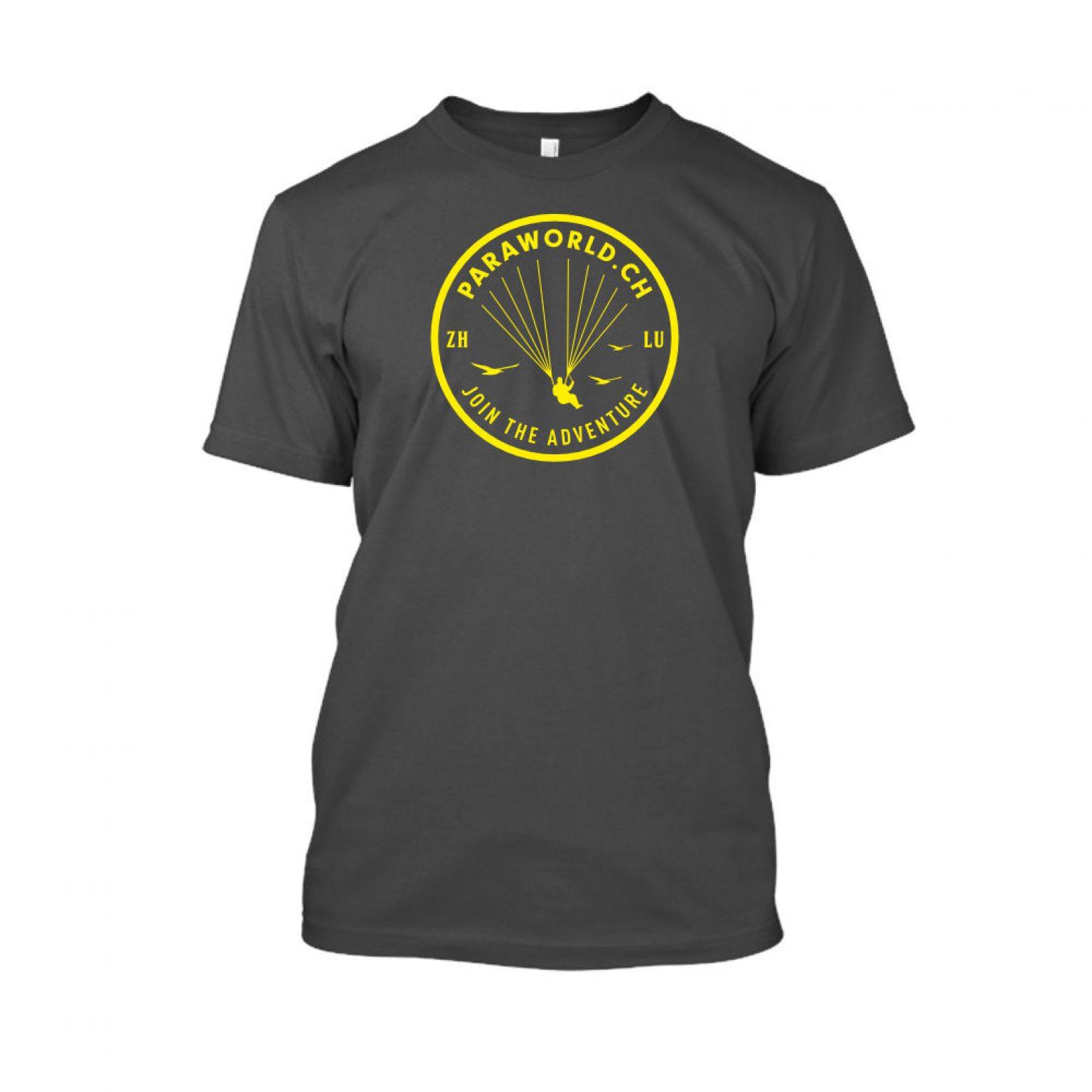 JTA yellow shirt herren charcoal