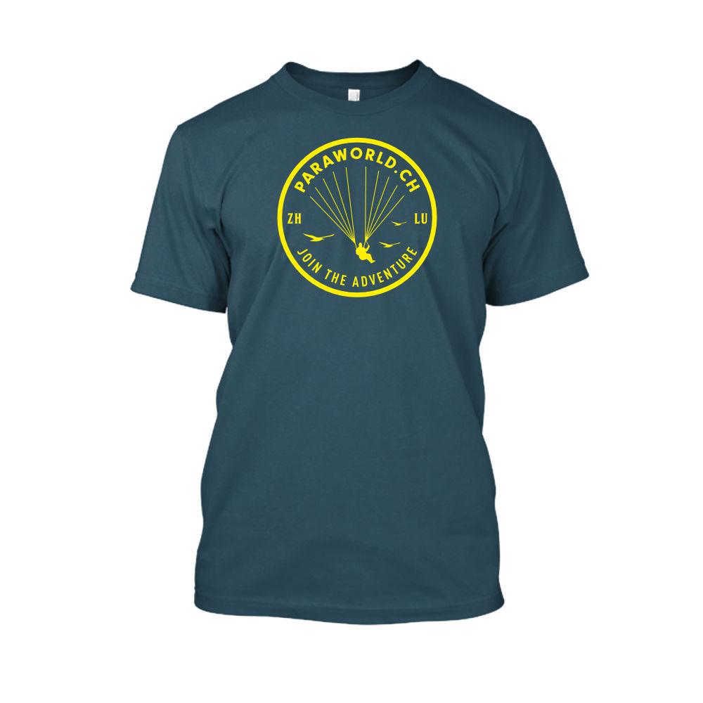 JTA yellow shirt herren navy