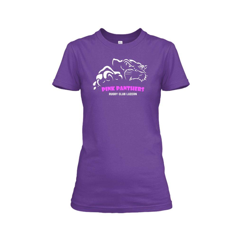 PP Damen Shirt violet front