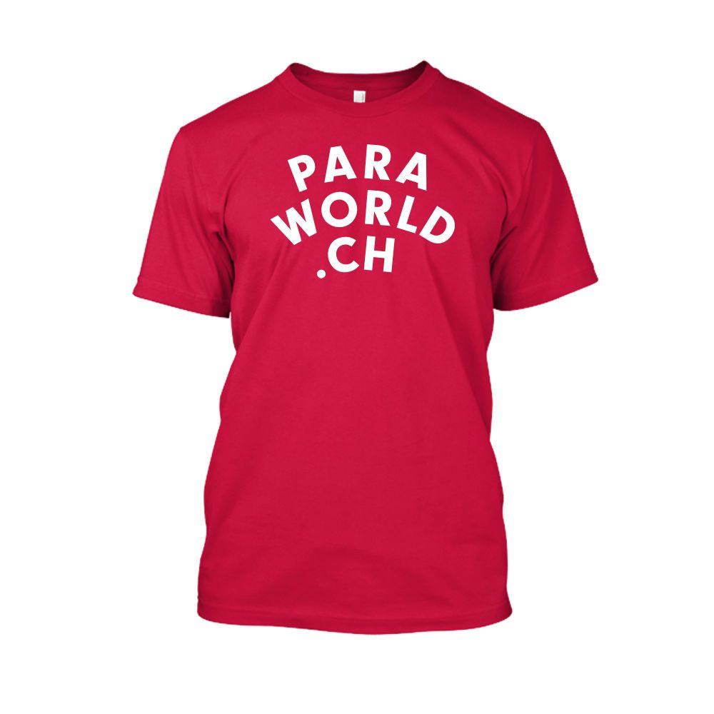PW ClassicWhite shirt herren red