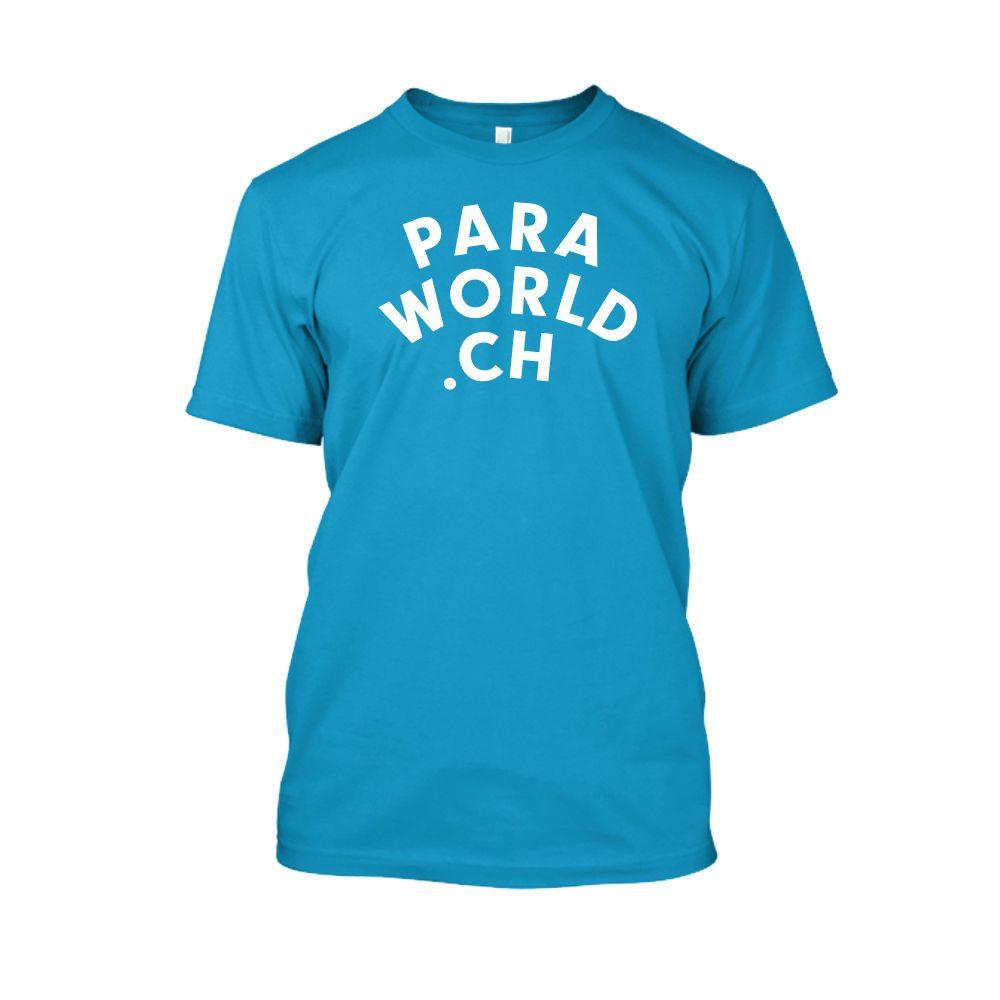 PW ClassicWhite shirt herren turqois