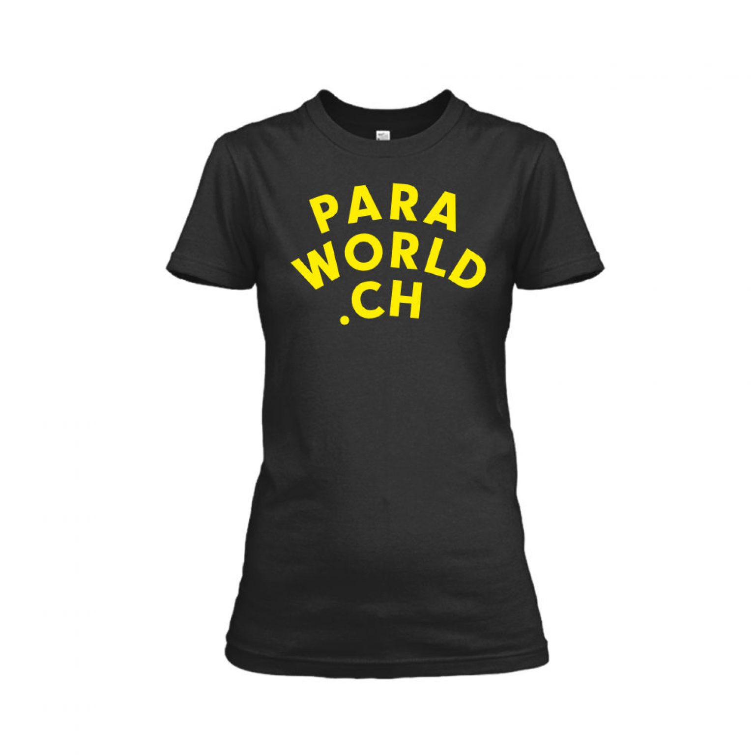 PW ClassicYellow shirt damen black