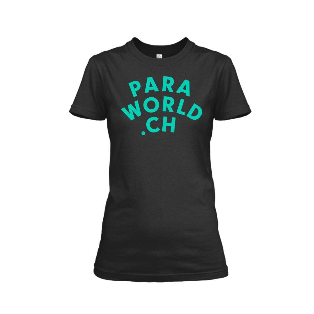 PW Classicturqois shirt damen black