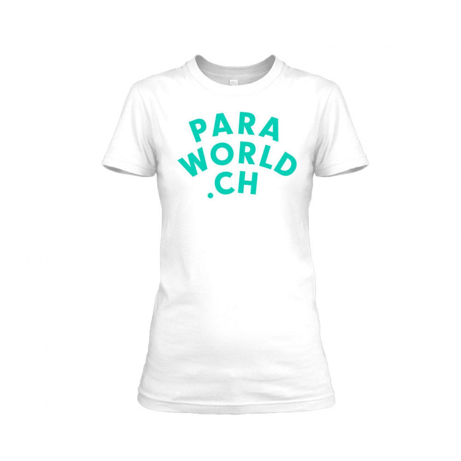 PW Classicturqois shirt damen white