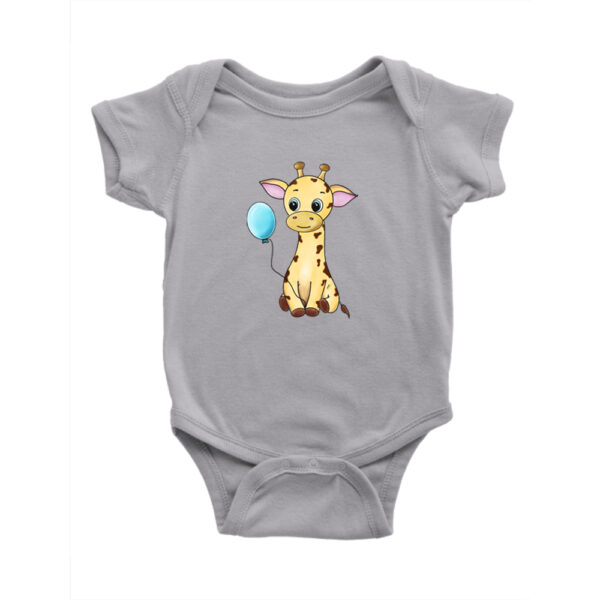Bebes Strampler Athletic Giraffe Boy balloon