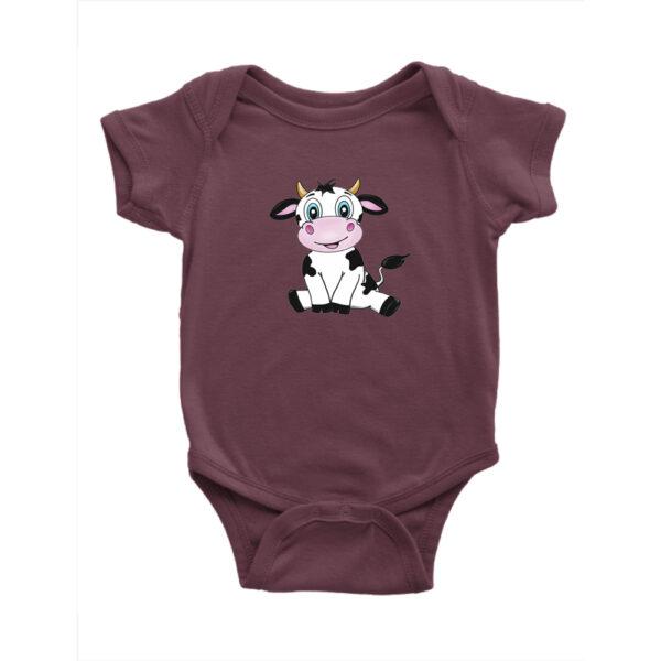 Bebes Strampler Maroon kuh