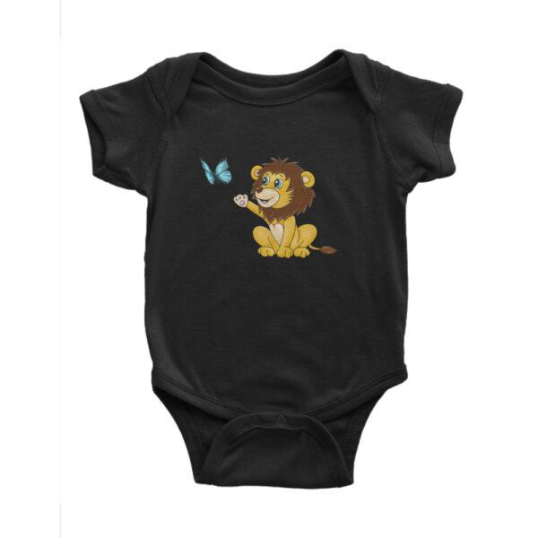 Bebes Strampler schwarz loewe
