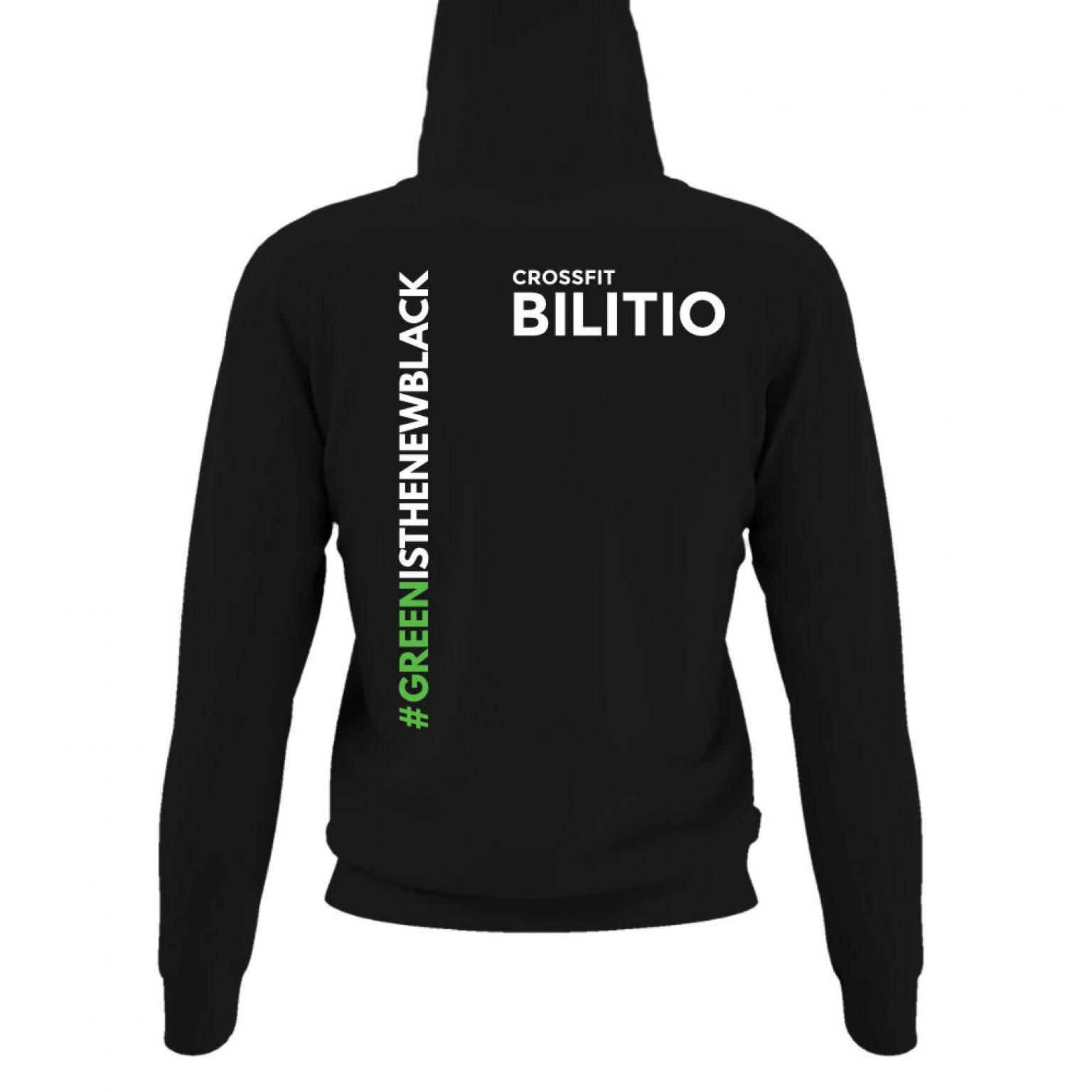 CFB hoodie damen black back