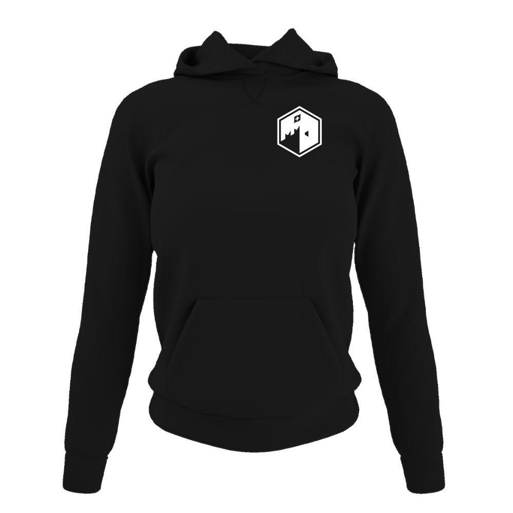 CFB hoodie damen black front