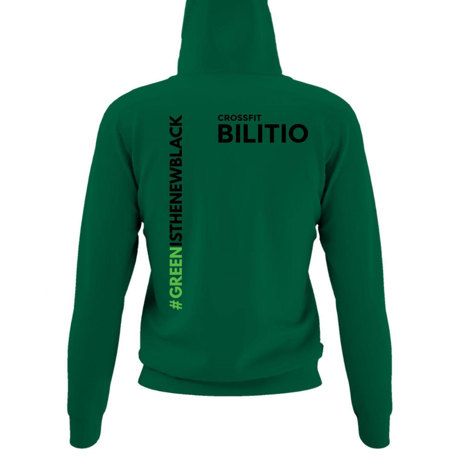 CFB hoodie damen green back