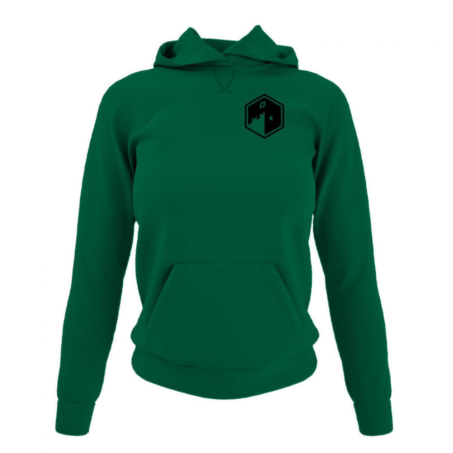 CFB hoodie damen green front