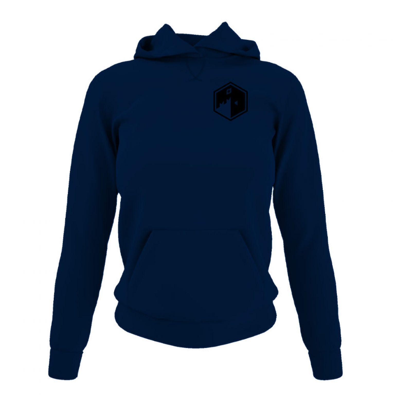 CFB hoodie damen navy front