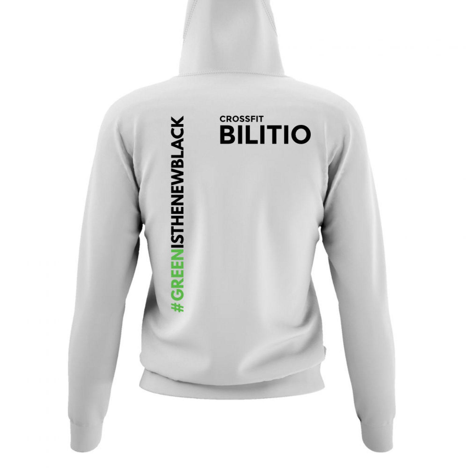 CFB hoodie damen white back