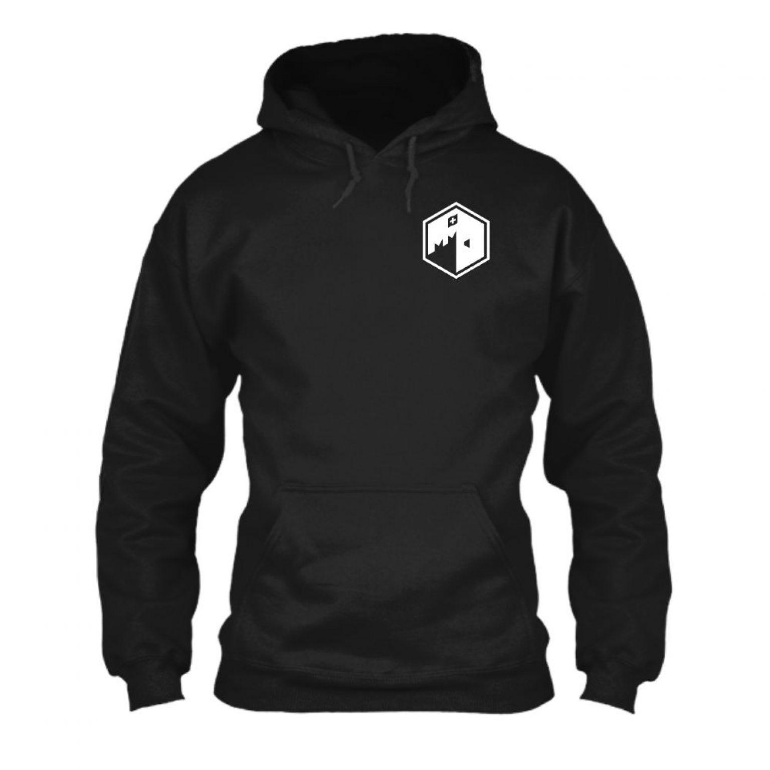 CFB hoodie herren black front