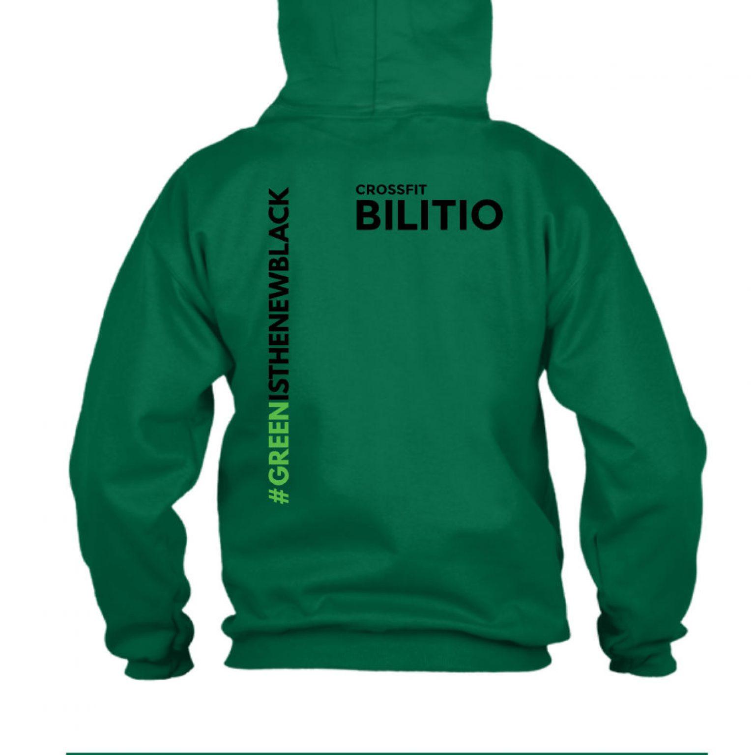 CFB hoodie herren green back