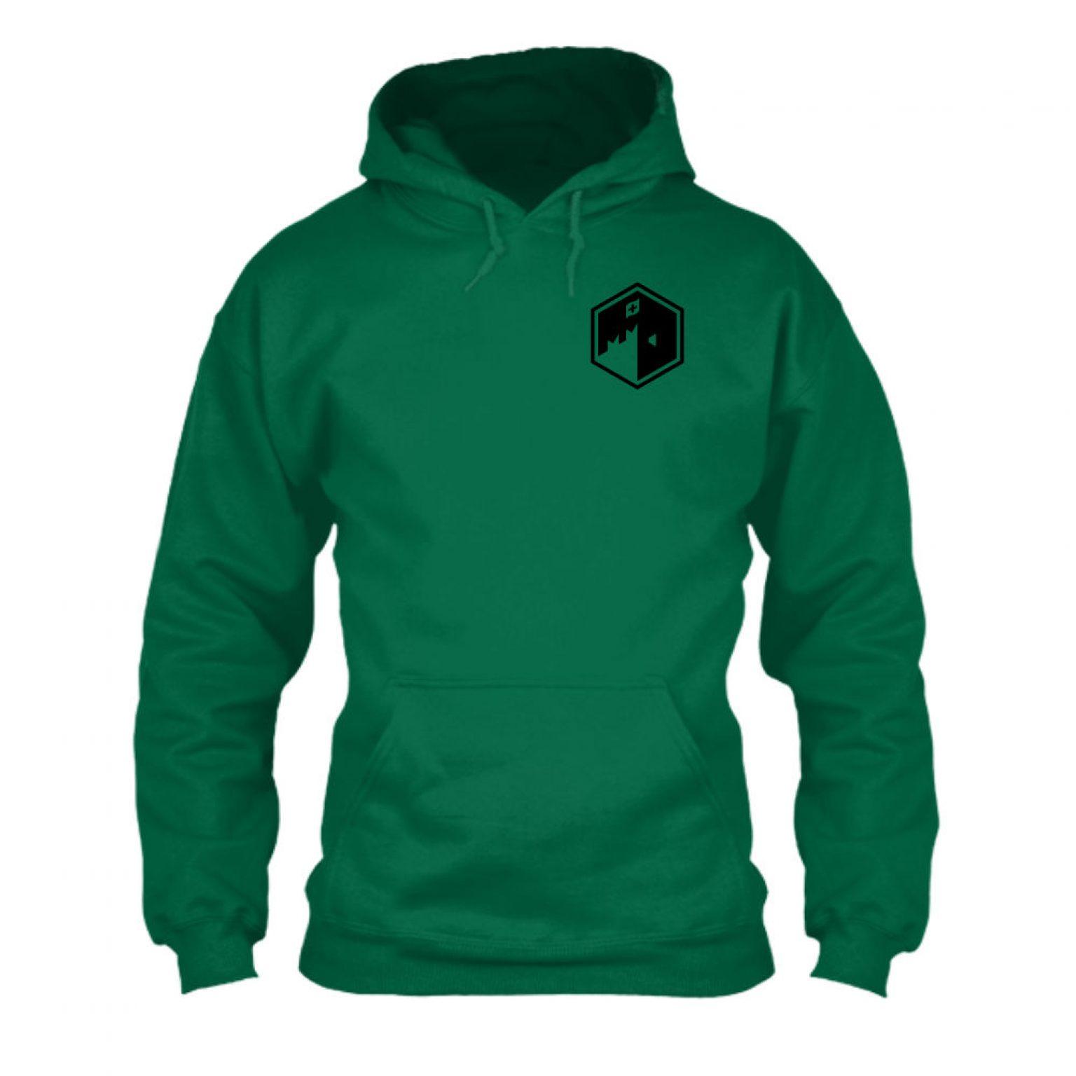 CFB hoodie herren green front