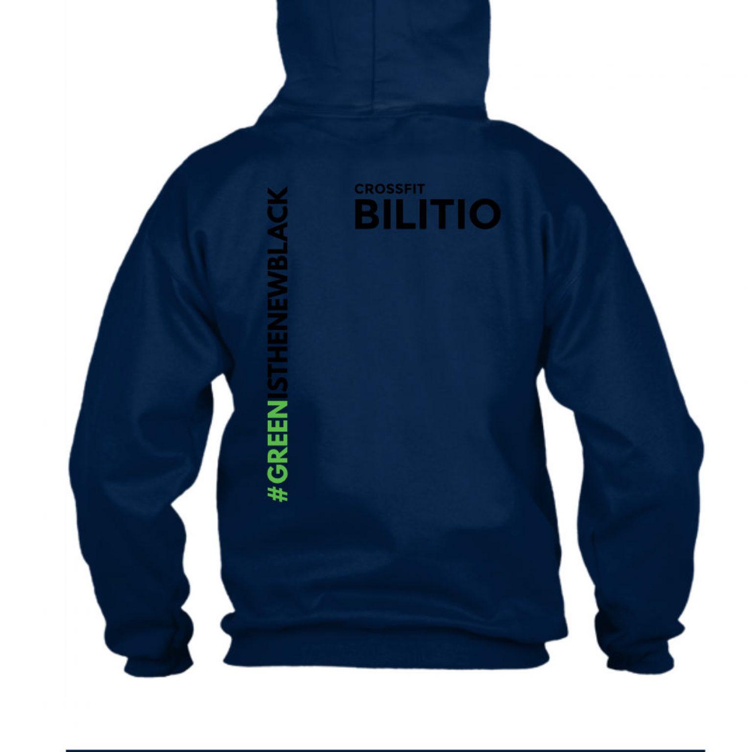 CFB hoodie herren navy back