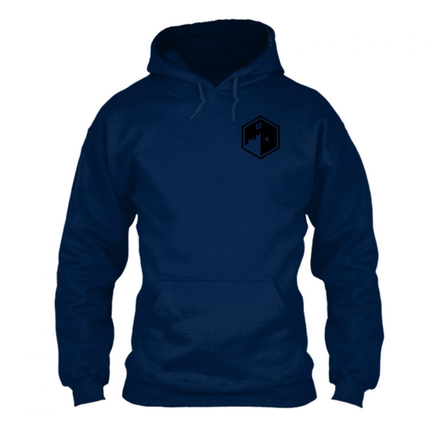 CFB hoodie herren navy front