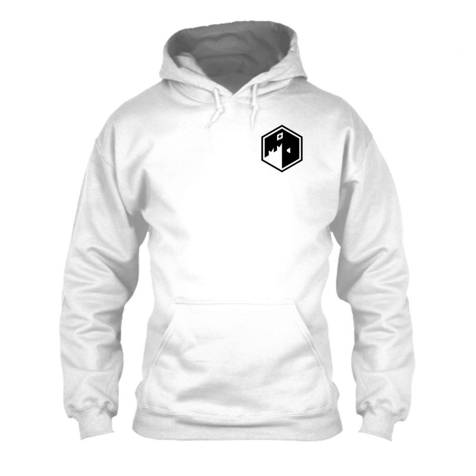 CFB hoodie herren white front