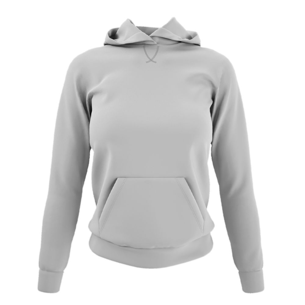 Damen hoodie oxford front