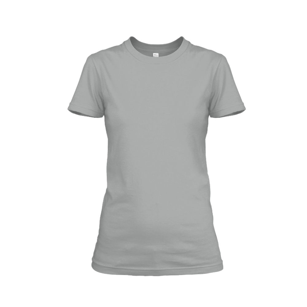 Damen shirt heather-grey front