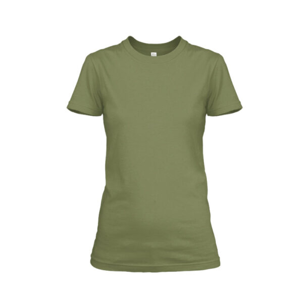Damen shirt milgreen front