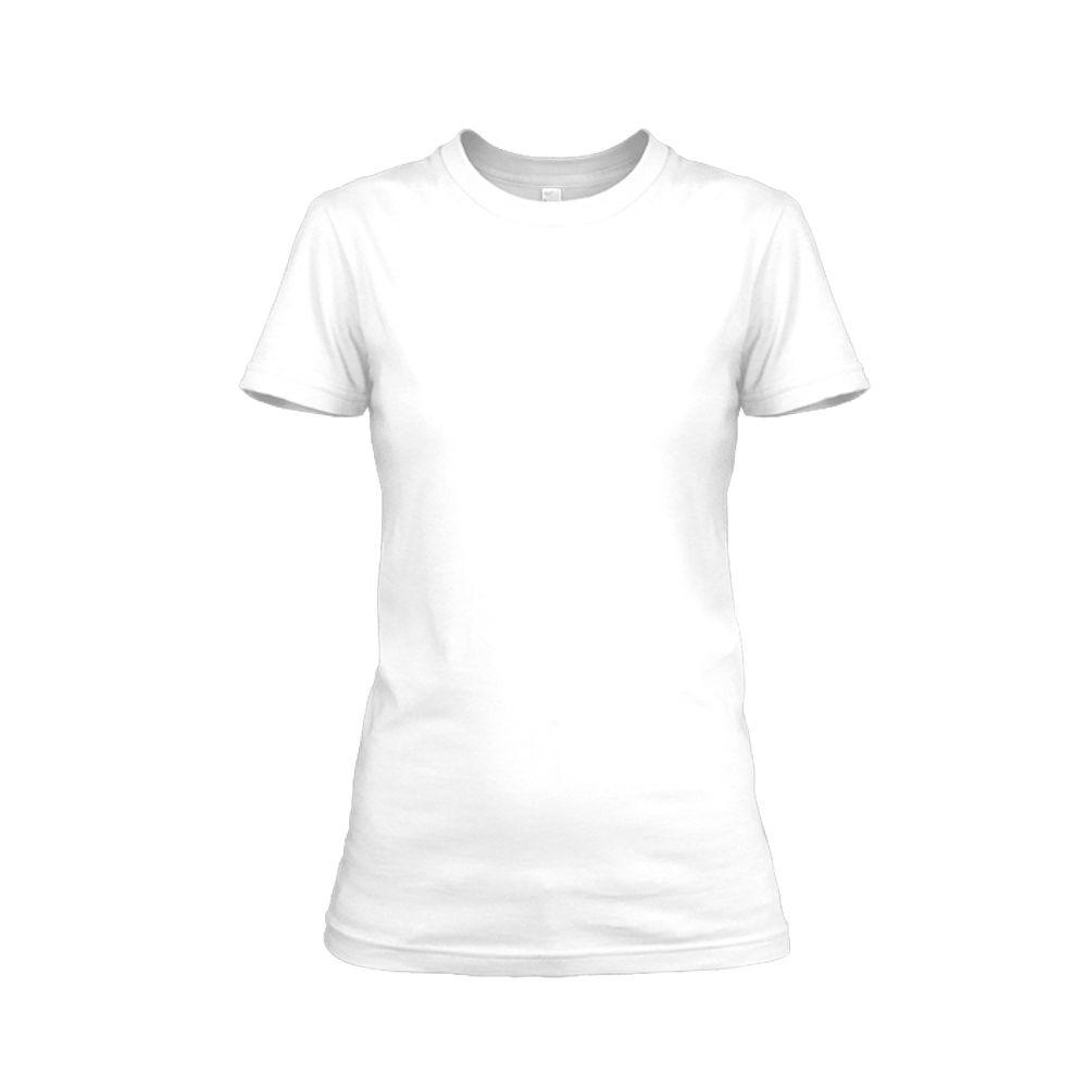Damen shirt weiss front