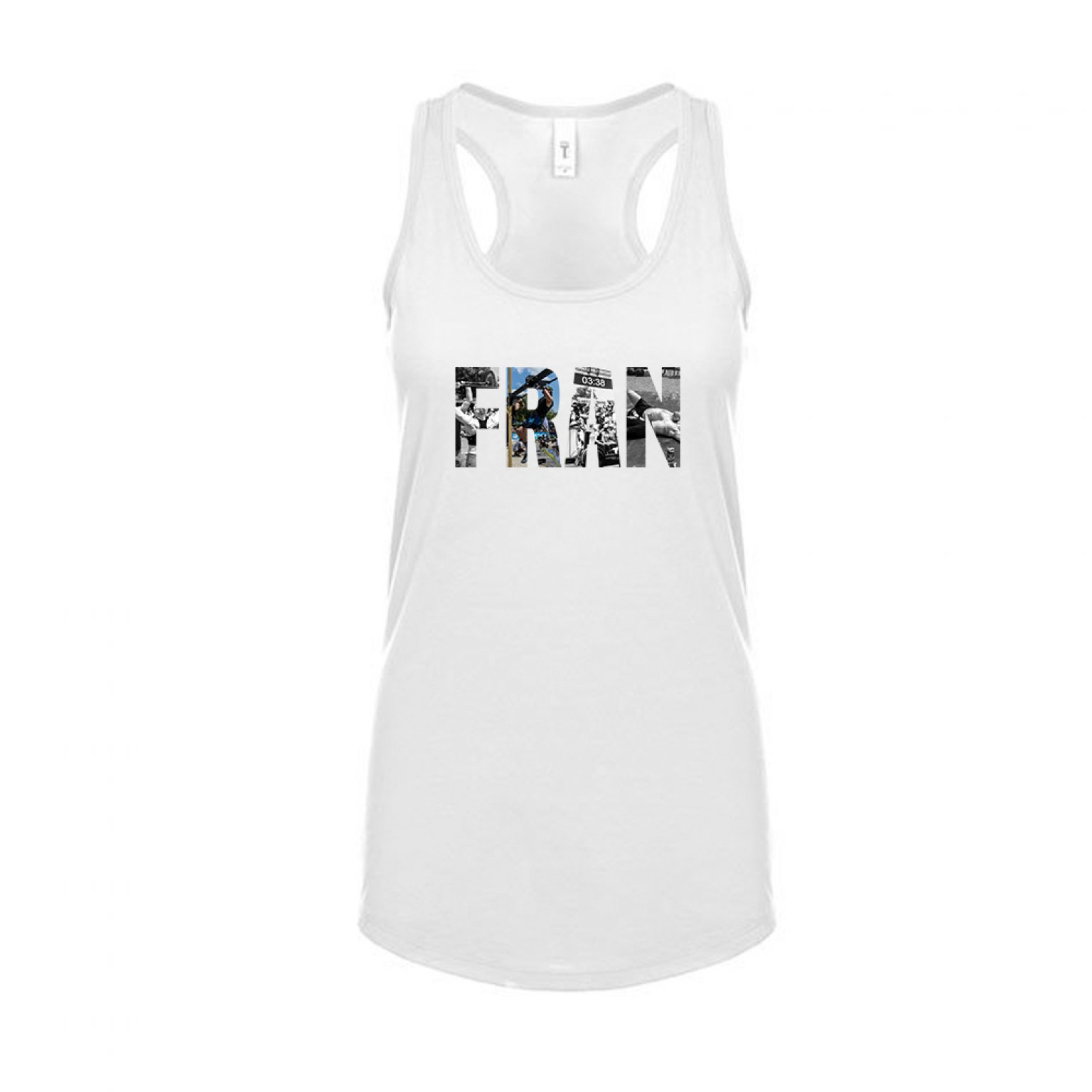 Fran Damen Tank weiss