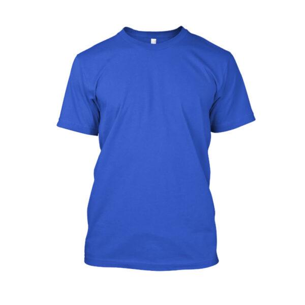 Herren shirt blue front