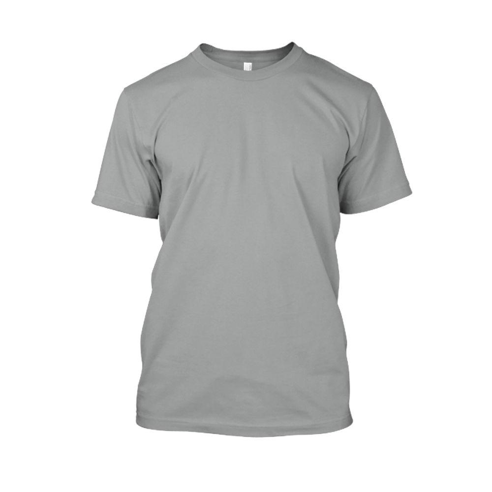 Herren shirt heather-grey front