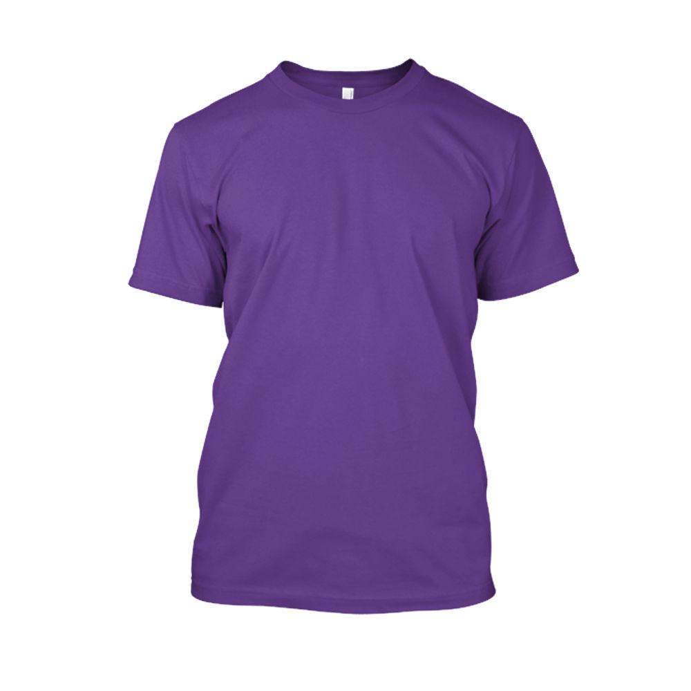 Herren shirt purple front