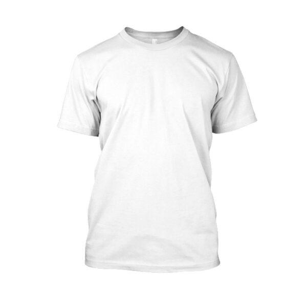 Herren shirt weiss front